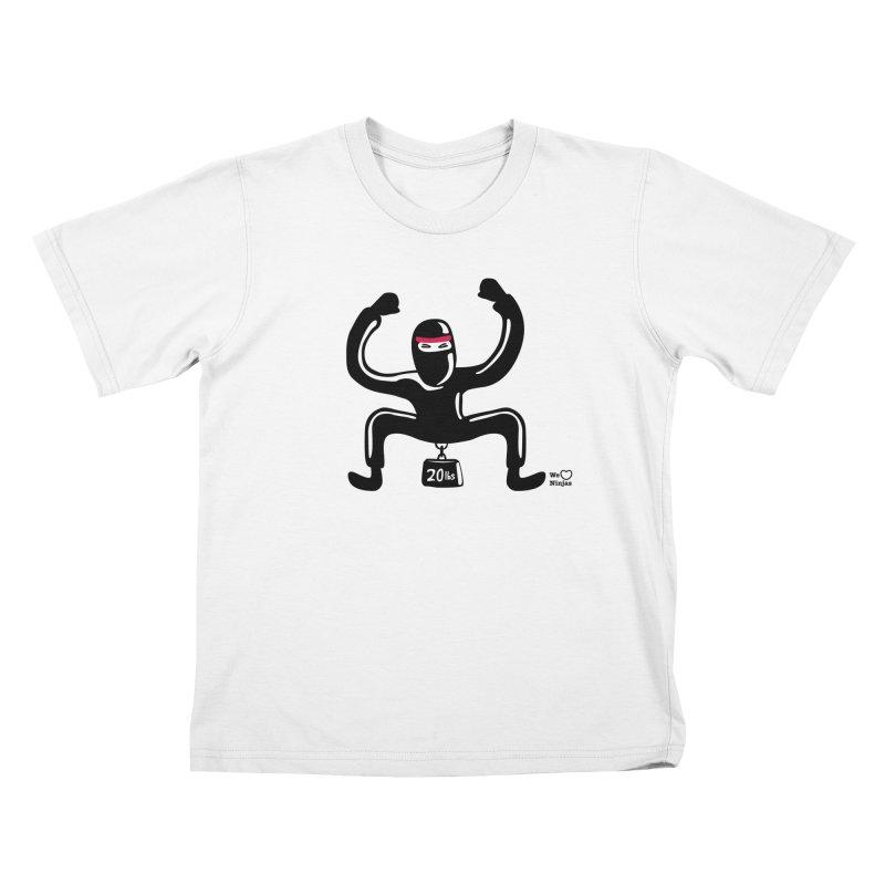 Hurts so good Kids T-Shirt by Weheartninjas's Artist Shop