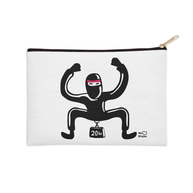 Hurts so good Accessories Zip Pouch by Weheartninjas's Artist Shop