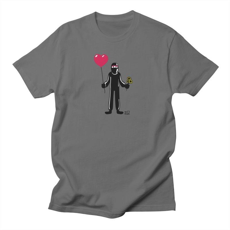 Ninja in love Men's T-Shirt by Weheartninjas's Artist Shop