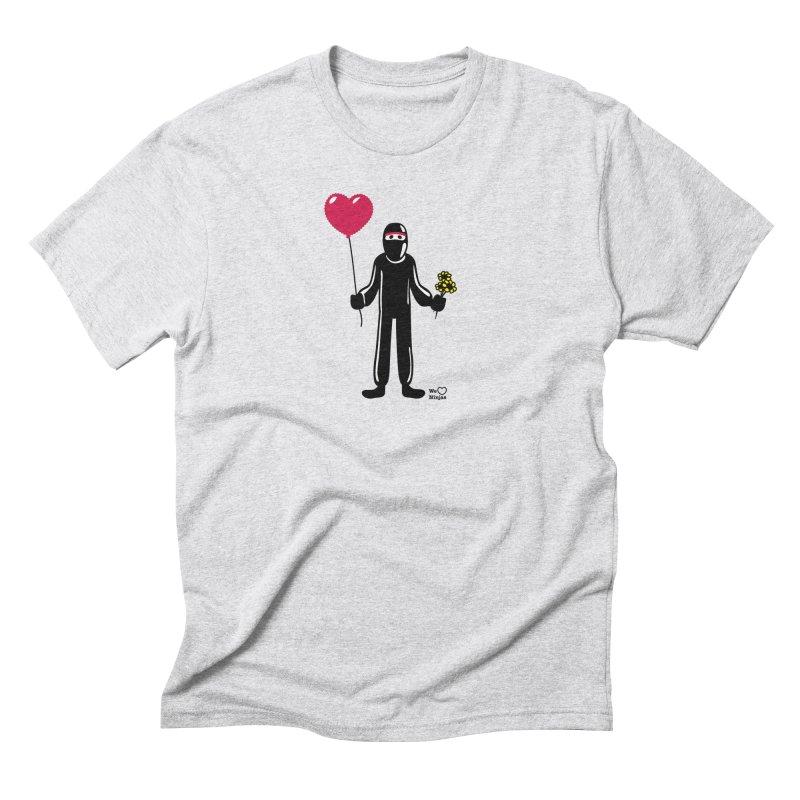 Ninja in love Men's Triblend T-Shirt by Weheartninjas's Artist Shop