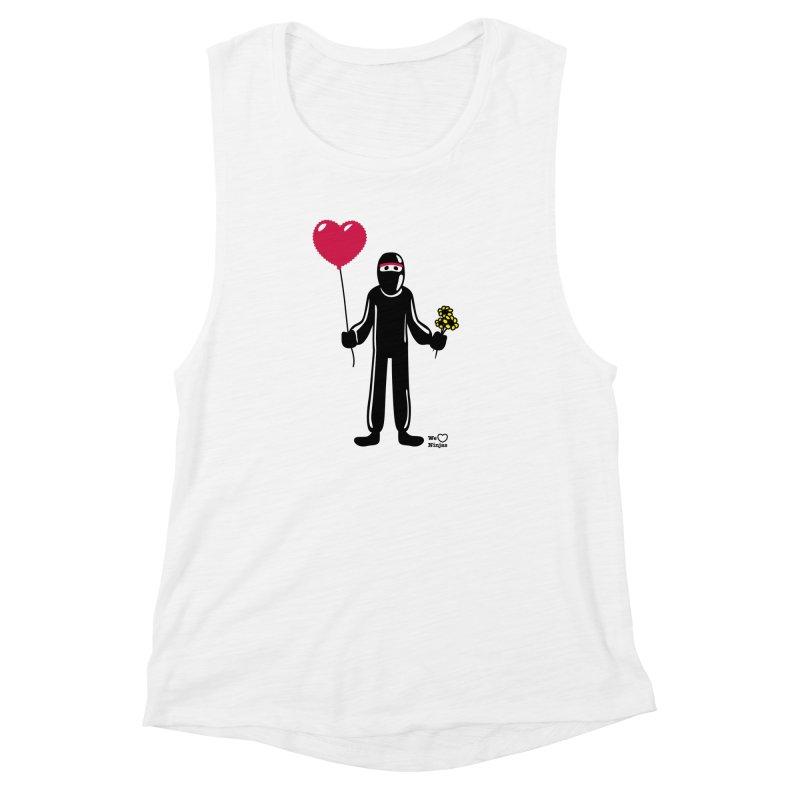 Ninja in love Women's Tank by Weheartninjas's Artist Shop