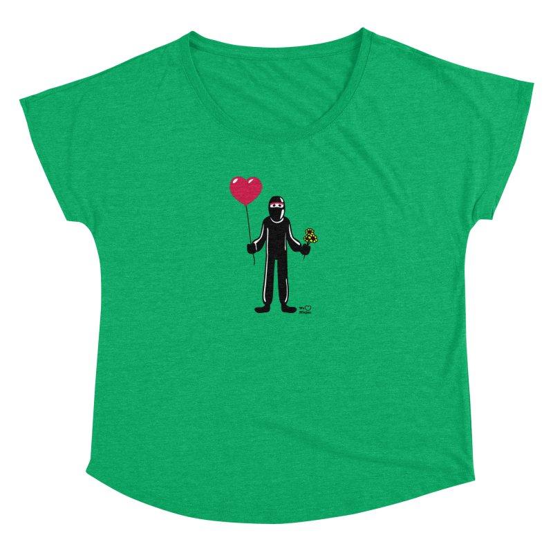 Ninja in love Women's Dolman Scoop Neck by Weheartninjas's Artist Shop