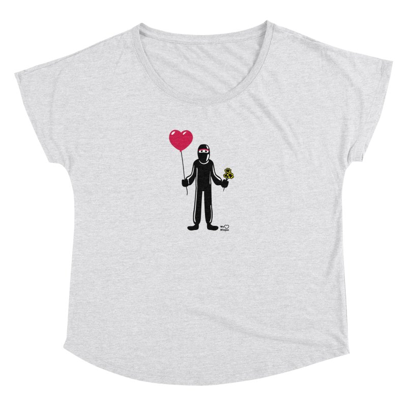 Ninja in love Women's Dolman Scoop Neck by Weheartninjas's Artist Shop