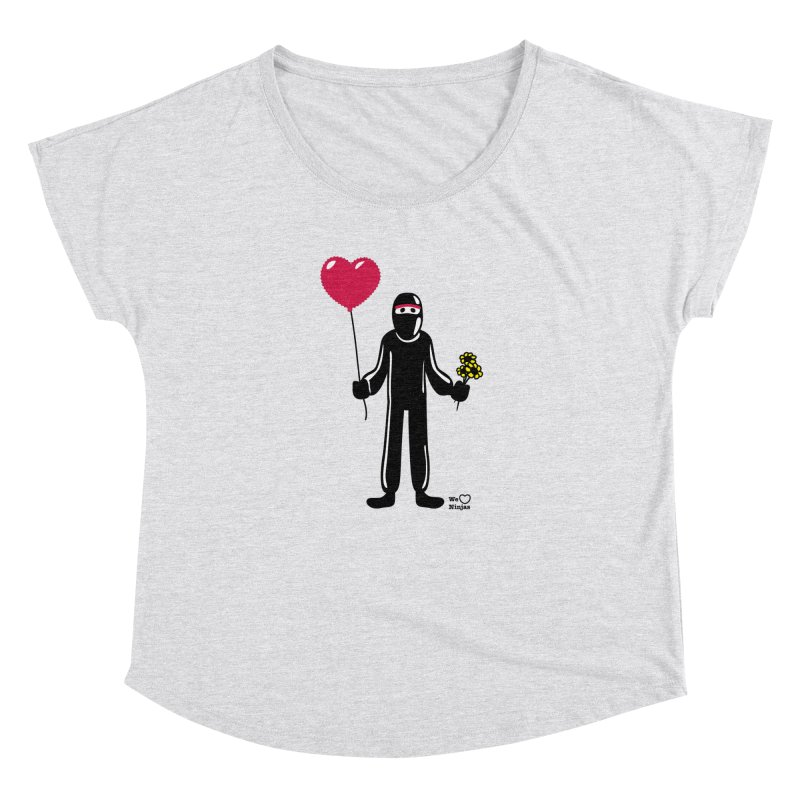 Ninja in love Women's Scoop Neck by Weheartninjas's Artist Shop