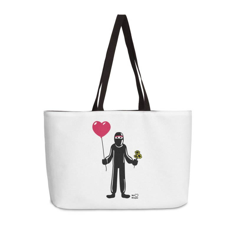 Ninja in love Accessories Bag by Weheartninjas's Artist Shop