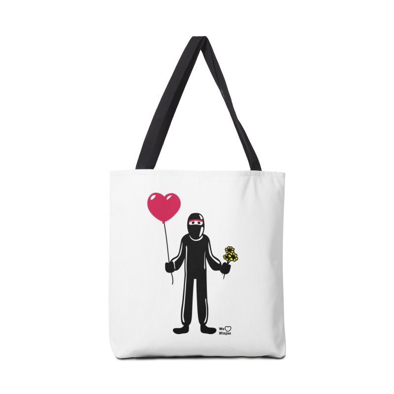 Ninja in love Accessories Bag by Weheartninjas's Artist Shop