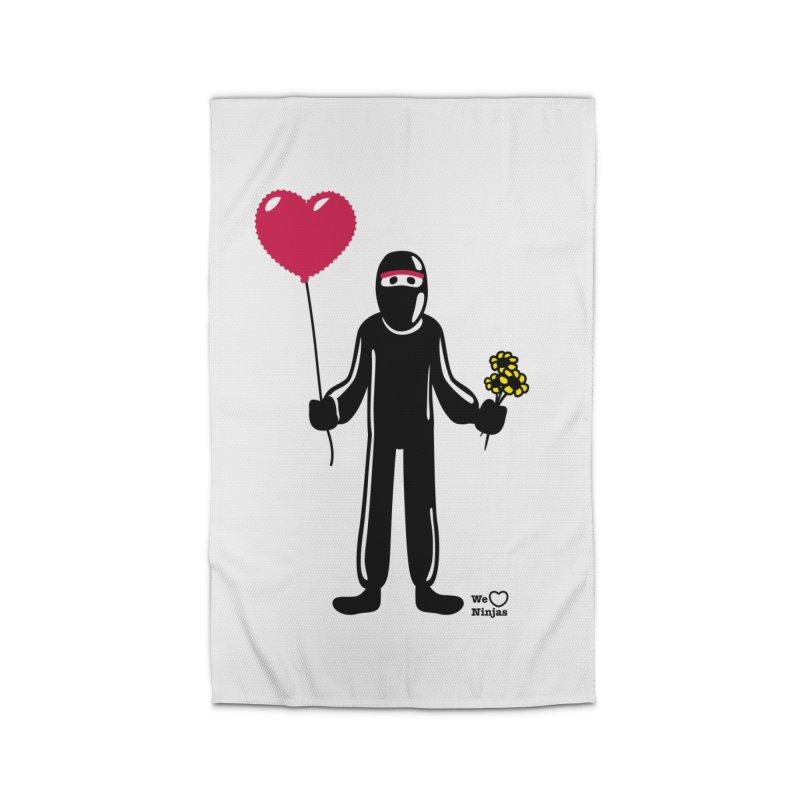 Ninja in love Home Rug by Weheartninjas's Artist Shop