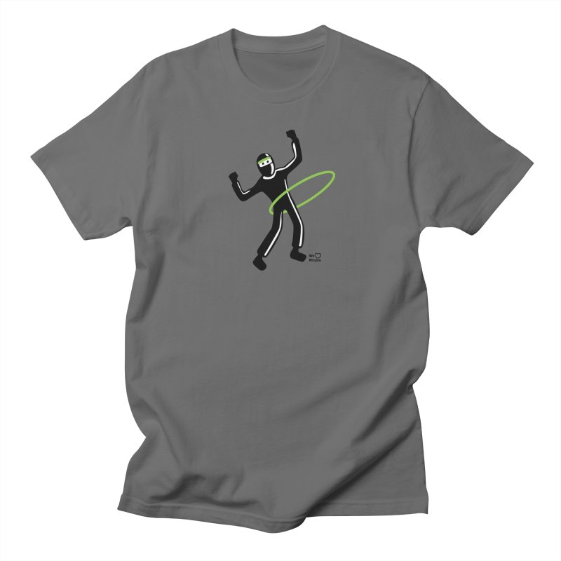 Hula Hoop Men's Regular T-Shirt by Weheartninjas's Artist Shop