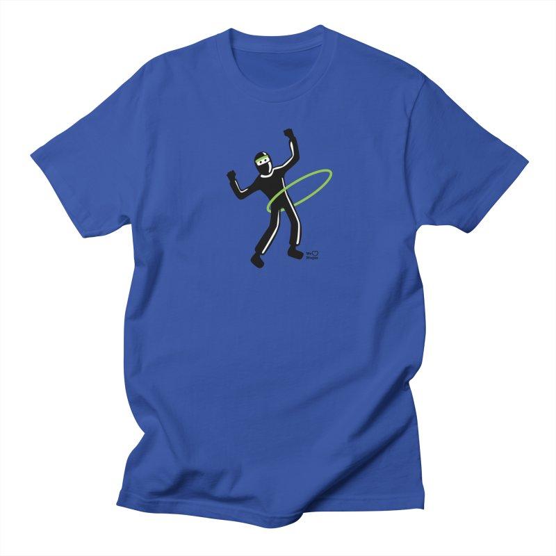 Hula Hoop Men's Regular T-Shirt by Weheartninjas's Artist Shop