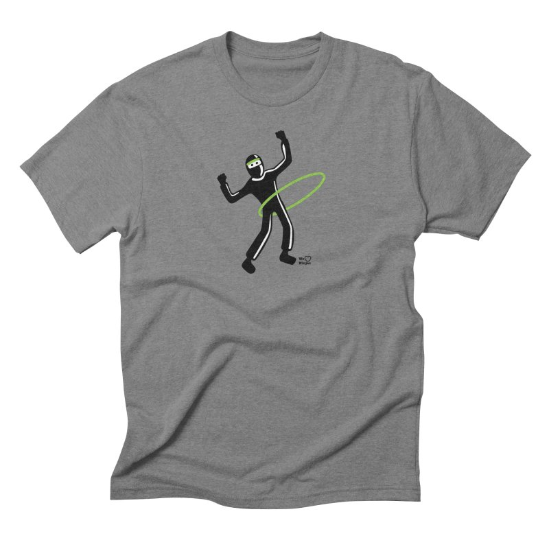 Hula Hoop Men's Triblend T-Shirt by Weheartninjas's Artist Shop