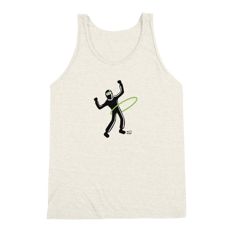 Hula Hoop Men's Triblend Tank by Weheartninjas's Artist Shop
