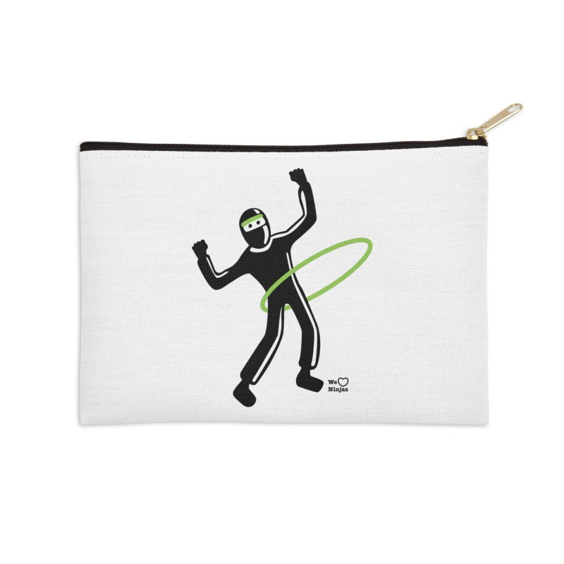 Hula Hoop Accessories Zip Pouch by Weheartninjas's Artist Shop