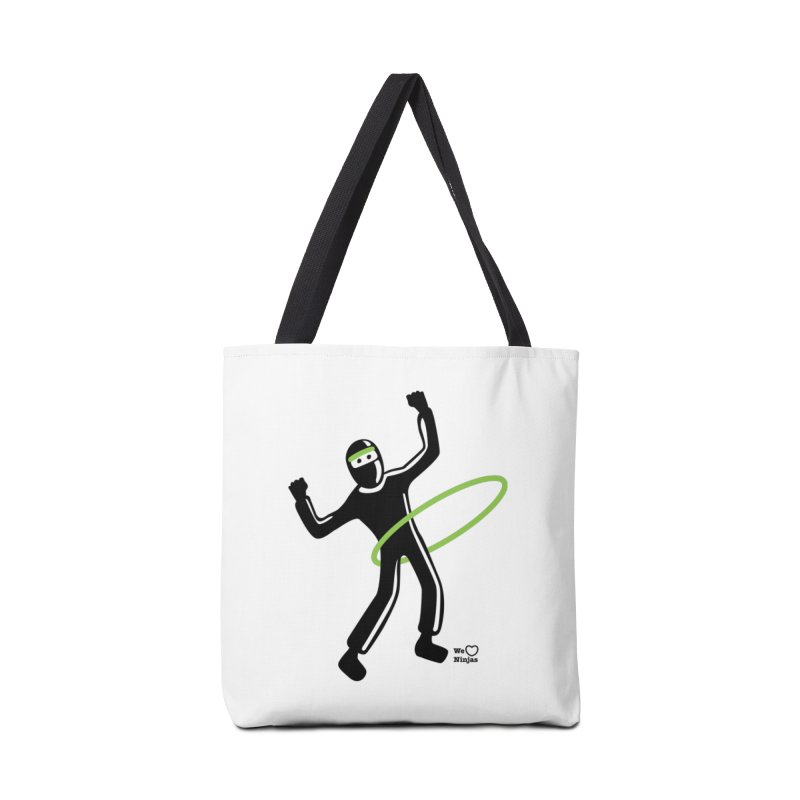 Hula Hoop Accessories Tote Bag Bag by Weheartninjas's Artist Shop
