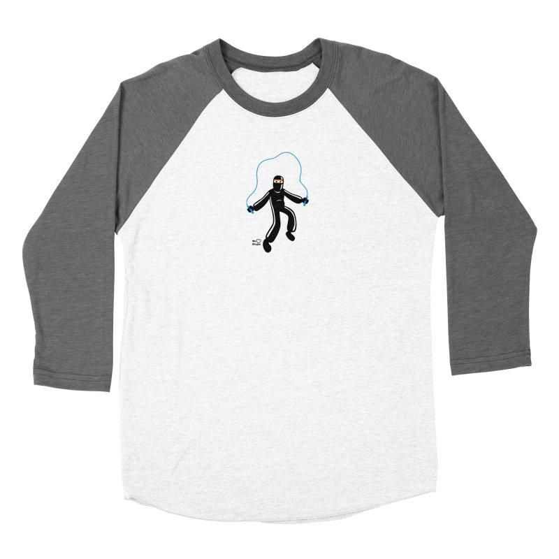 Skipping Rope Men's Baseball Triblend Longsleeve T-Shirt by Weheartninjas's Artist Shop