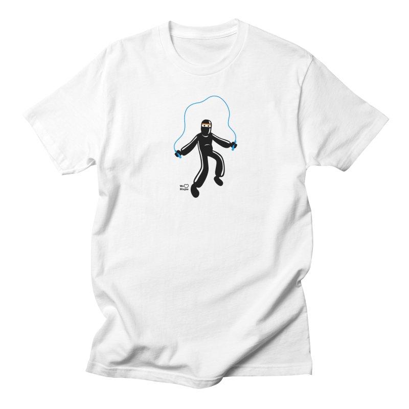 Skipping Rope Men's Regular T-Shirt by Weheartninjas's Artist Shop