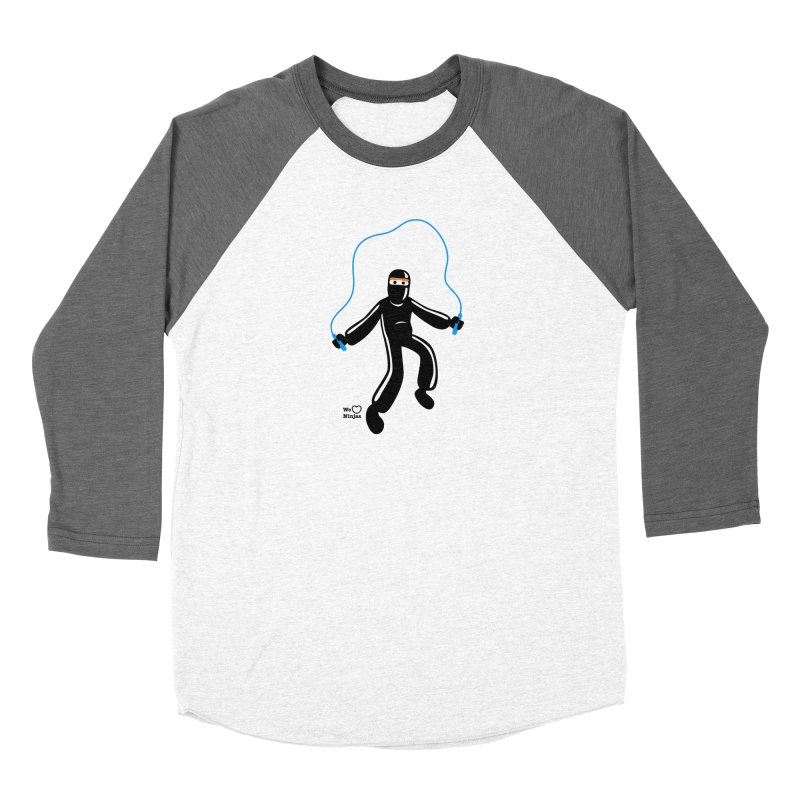Skipping Rope Men's Baseball Triblend Longsleeve T-Shirt by Weheartninjas's Artist Shop