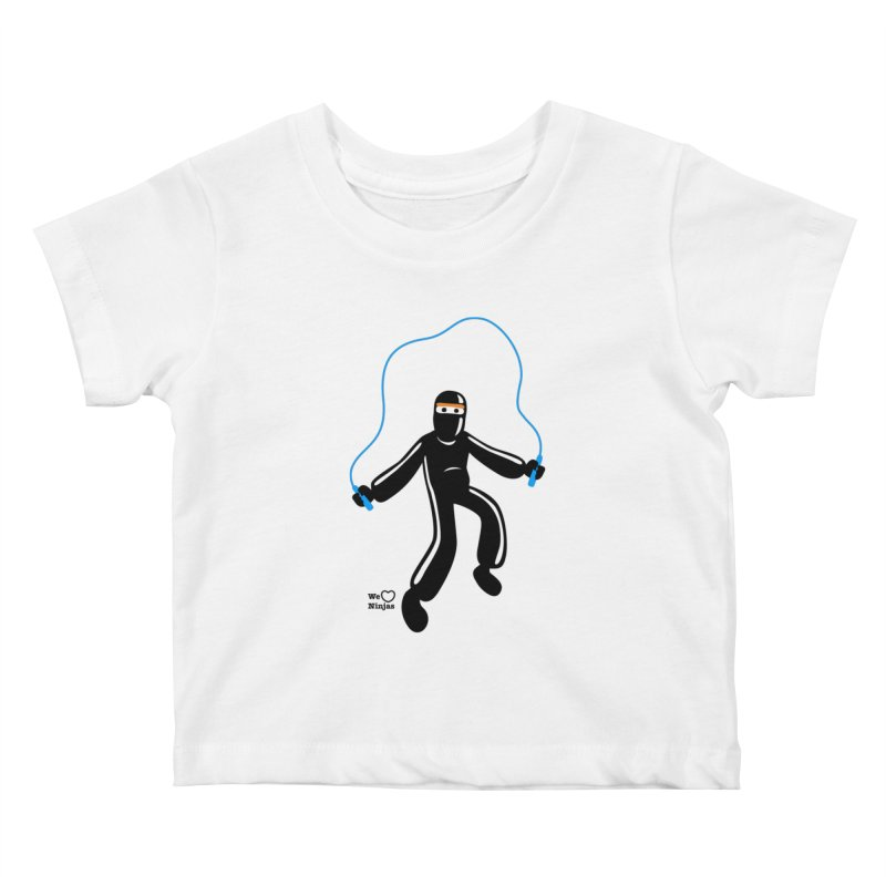Skipping Rope Kids Baby T-Shirt by Weheartninjas's Artist Shop