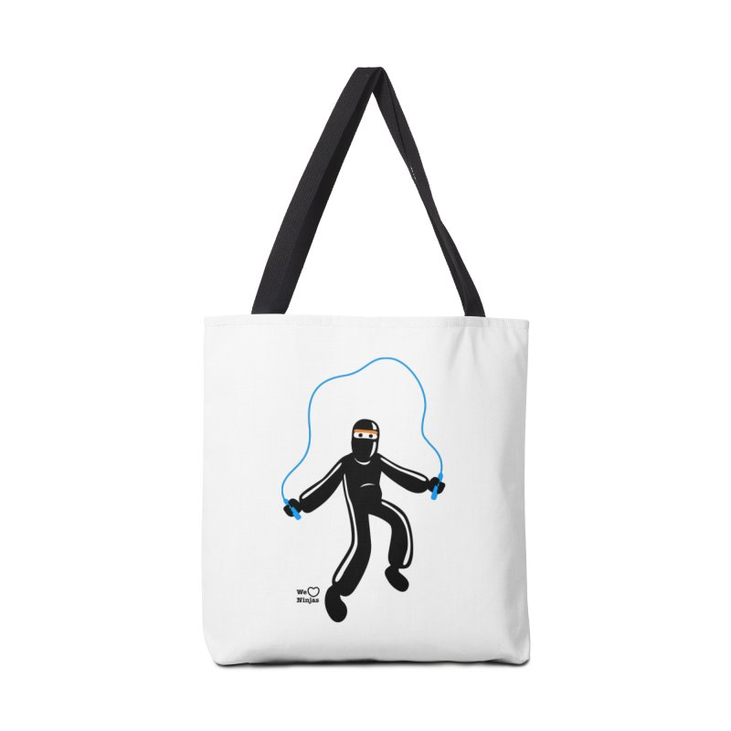 Skipping Rope Accessories Tote Bag Bag by Weheartninjas's Artist Shop