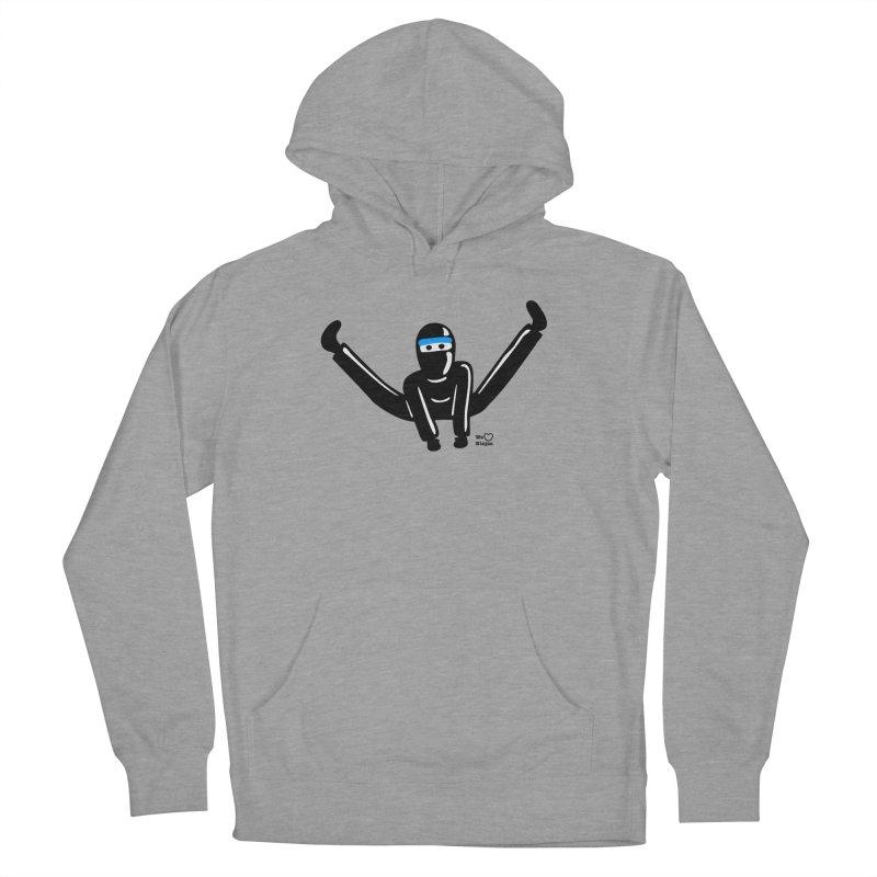 Ninja split kick! Men's Pullover Hoody by Weheartninjas's Artist Shop