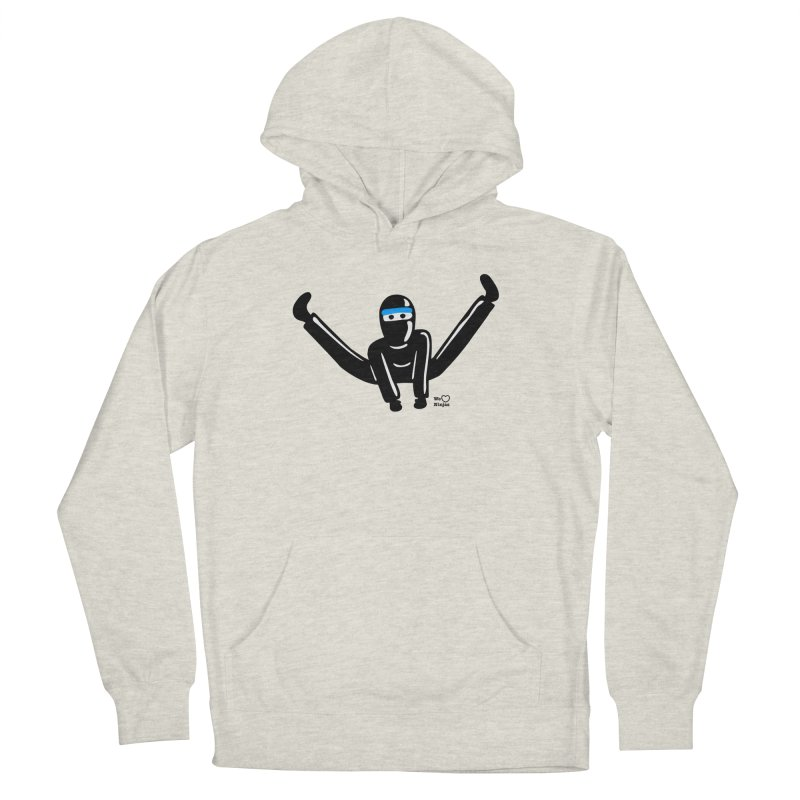 Ninja split kick! Men's Pullover Hoody by Weheartninjas's Artist Shop