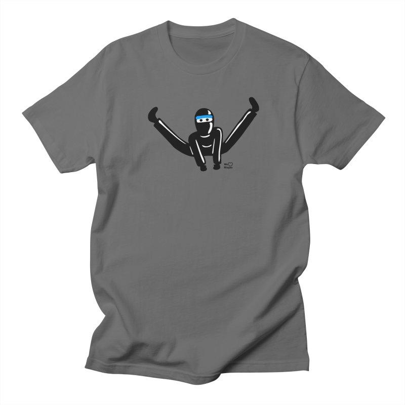 Ninja split kick! Men's T-Shirt by Weheartninjas's Artist Shop