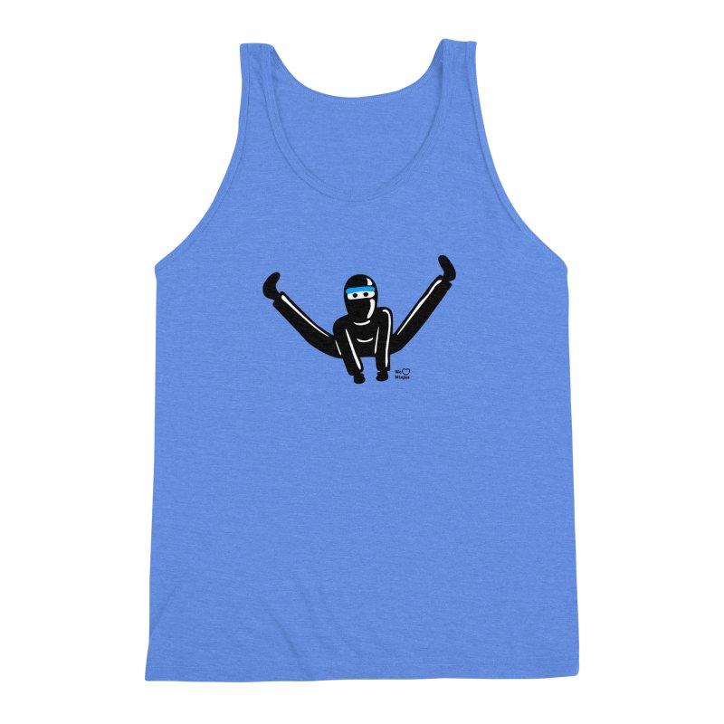 Ninja split kick! Men's Triblend Tank by Weheartninjas's Artist Shop