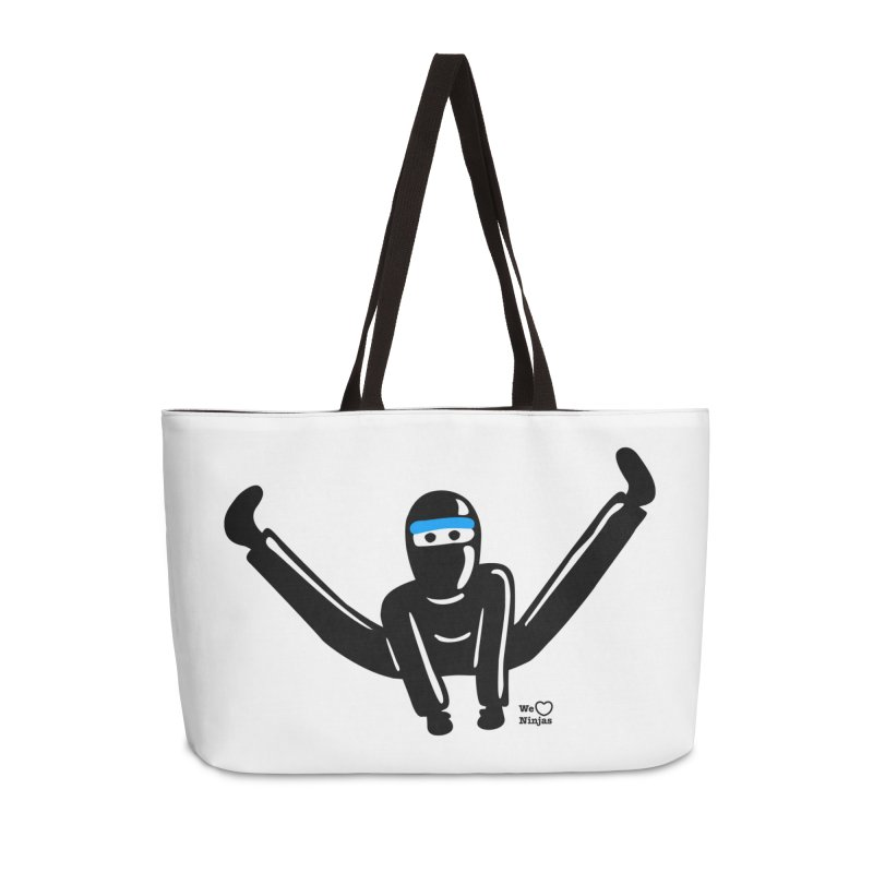 Ninja split kick! Accessories Weekender Bag Bag by Weheartninjas's Artist Shop
