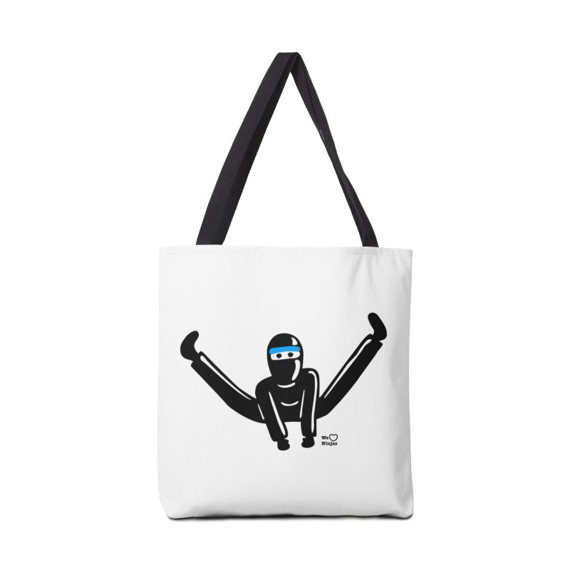 Ninja split kick! Accessories Tote Bag Bag by Weheartninjas's Artist Shop
