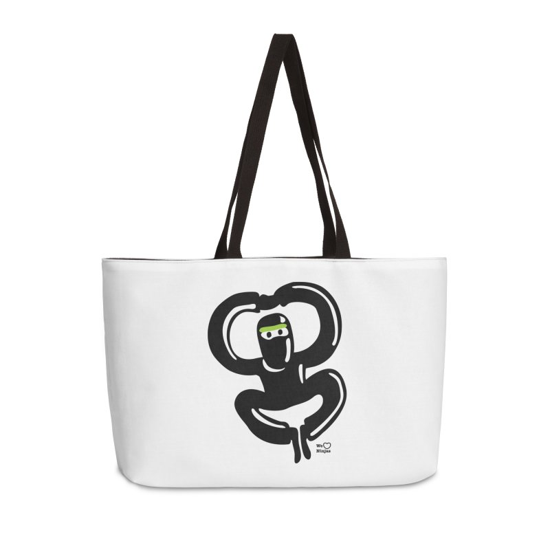 Happy Ninja Accessories Weekender Bag Bag by Weheartninjas's Artist Shop
