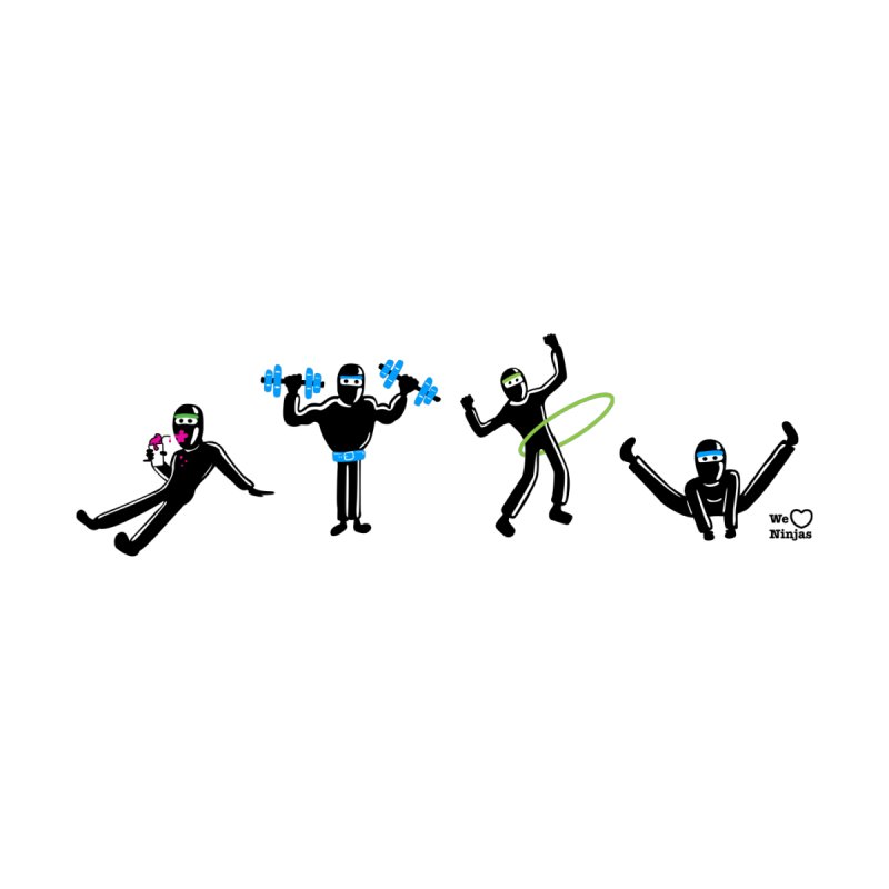 Ninjas getting physical! by Weheartninjas's Artist Shop