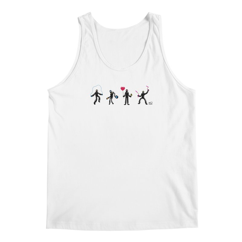 Ninjas unite to make four ninjas! Men's Regular Tank by Weheartninjas's Artist Shop