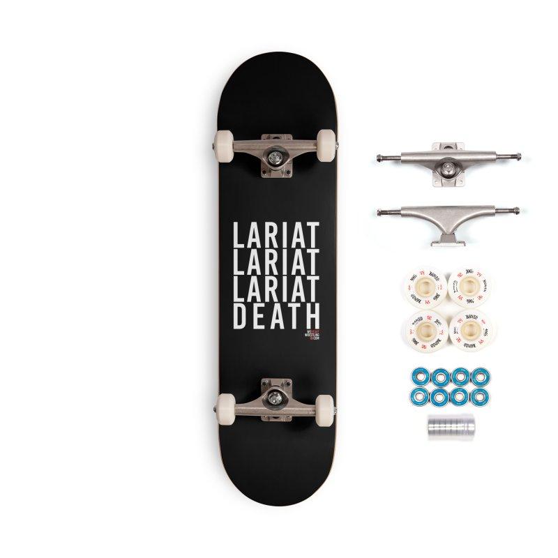 Lariat Death | White Accessories Complete - Premium Skateboard by We Heart Wrestling