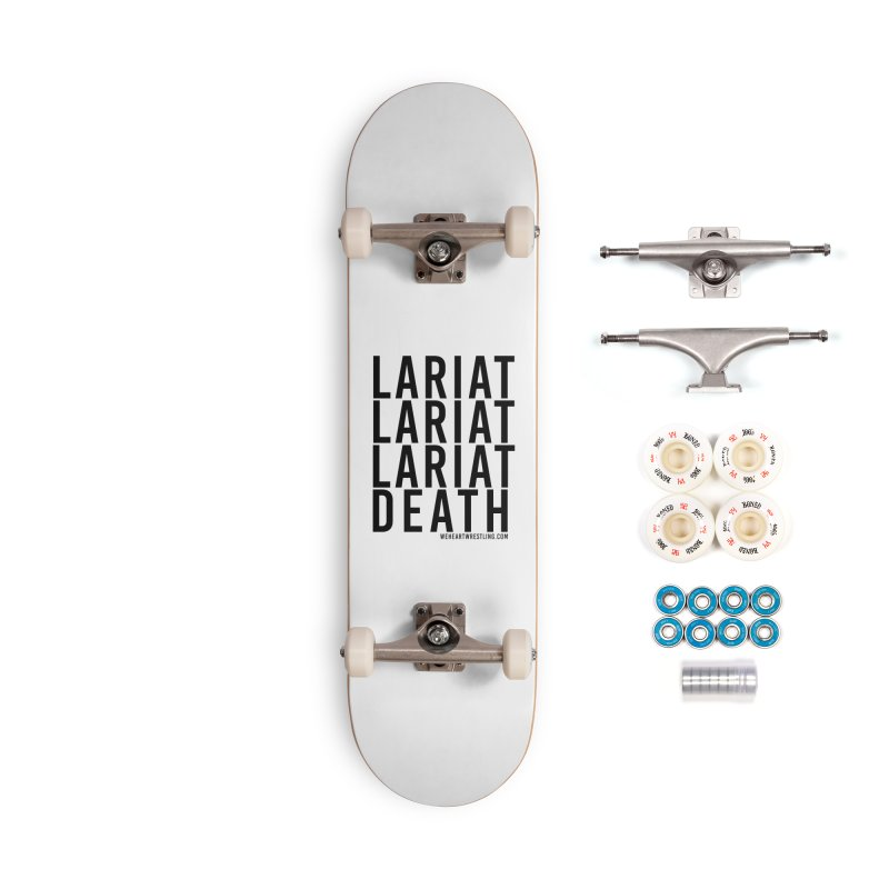 Lariat Death | Black Accessories Complete - Premium Skateboard by We Heart Wrestling