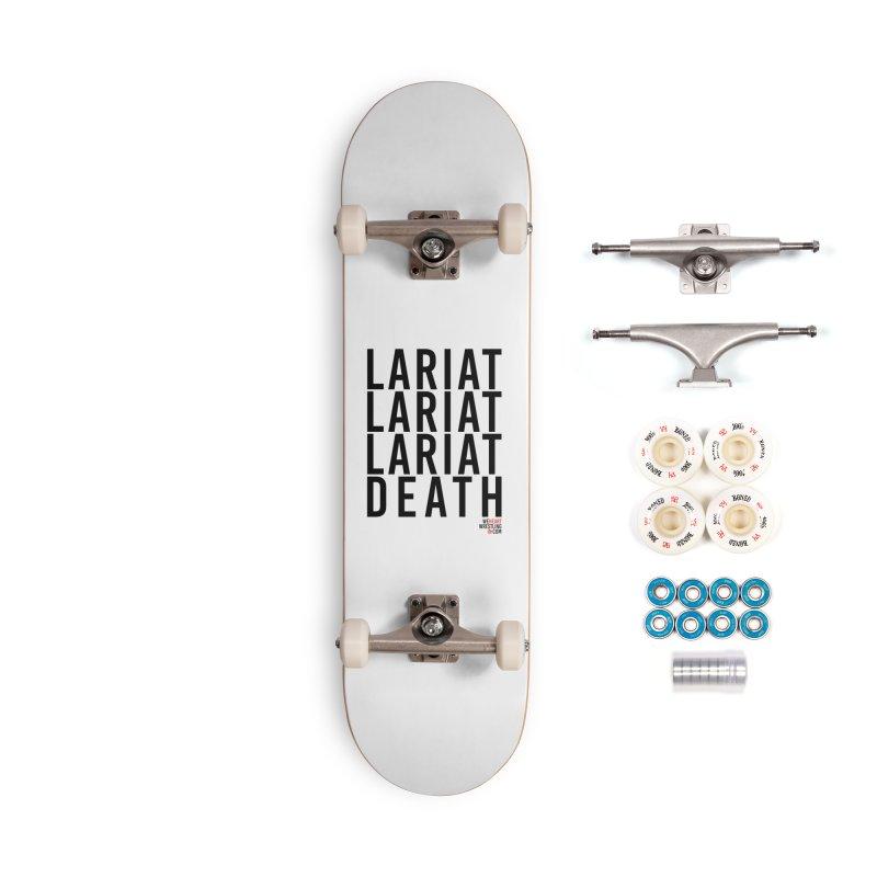 Lariat Death | Black Accessories Complete - Premium Skateboard by We Heart Wrestling