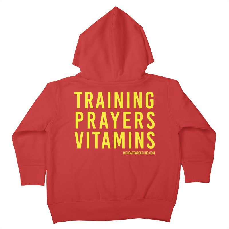 Commandments, Brother Kids Toddler Zip-Up Hoody by We Heart Wrestling