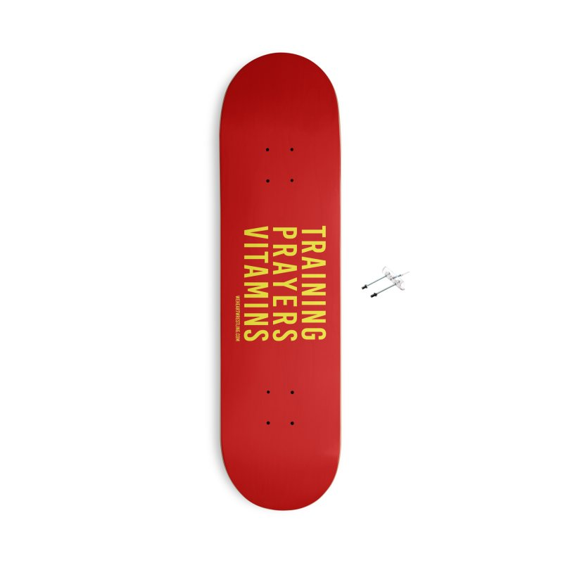 Commandments, Brother Accessories With Hanging Hardware Skateboard by We Heart Wrestling