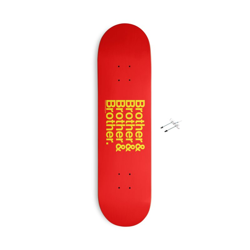 Brother Accessories Skateboard by We Heart Wrestling