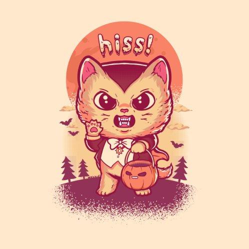 Design for Hiss! Vampire Cat