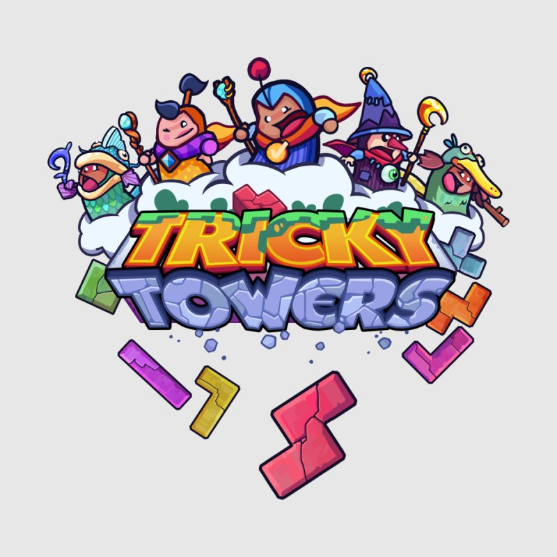 Tricky Towers Men's V-Neck by WeirdBeard Games Shop