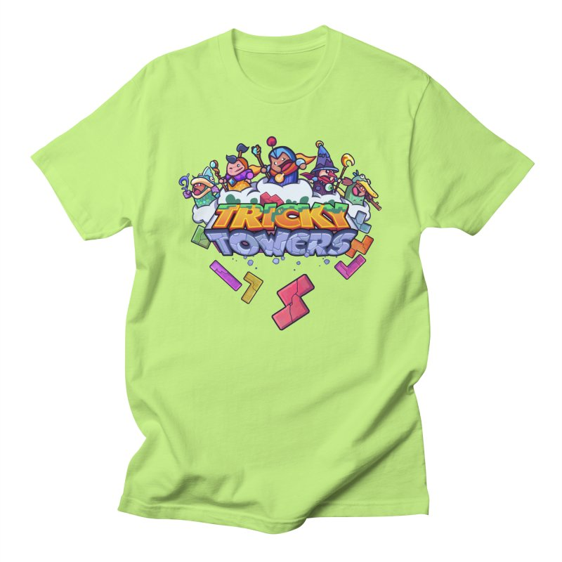 Tricky Towers Men's T-Shirt by WeirdBeard Games Shop