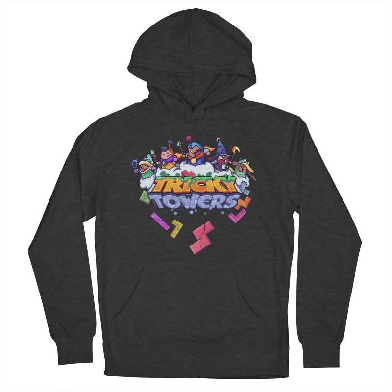 Tricky Towers Women's Pullover Hoody by WeirdBeard Games Shop