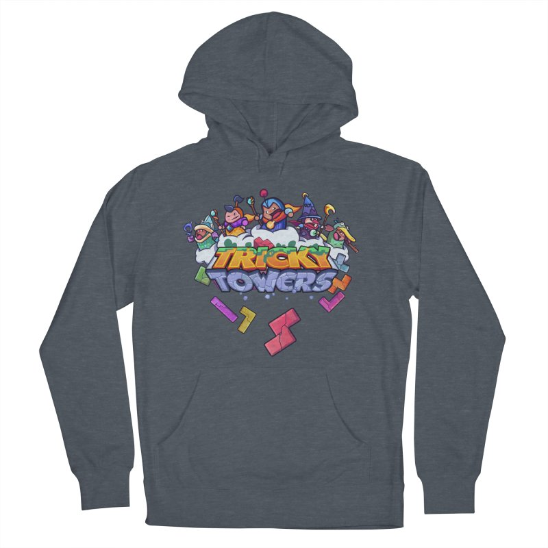 Tricky Towers Men's Pullover Hoody by WeirdBeard Games Shop