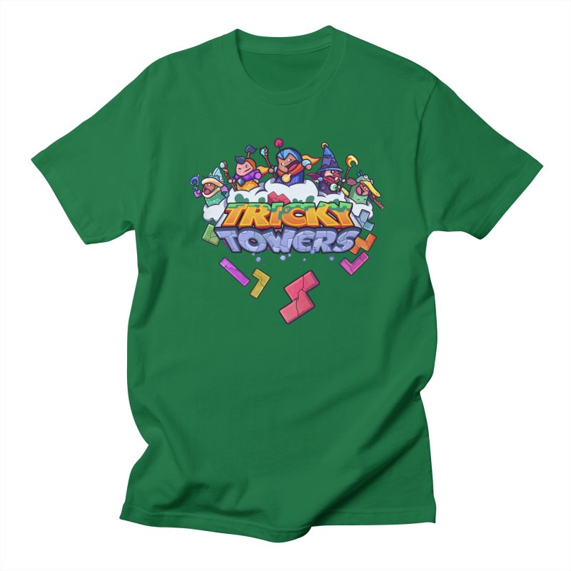 Tricky Towers Men's T-Shirt by WeirdBeard Games Shop
