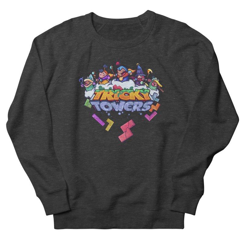 Tricky Towers Women's French Terry Sweatshirt by WeirdBeard Games Shop