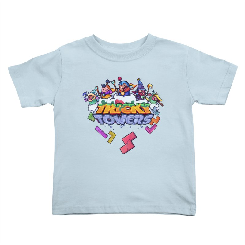 Tricky Towers Kids Toddler T-Shirt by WeirdBeard Games Shop