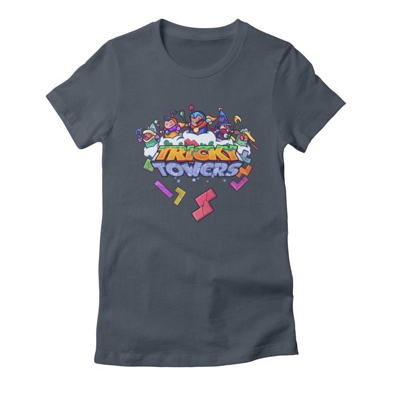 Tricky Towers Women's T-Shirt by WeirdBeard Games Shop