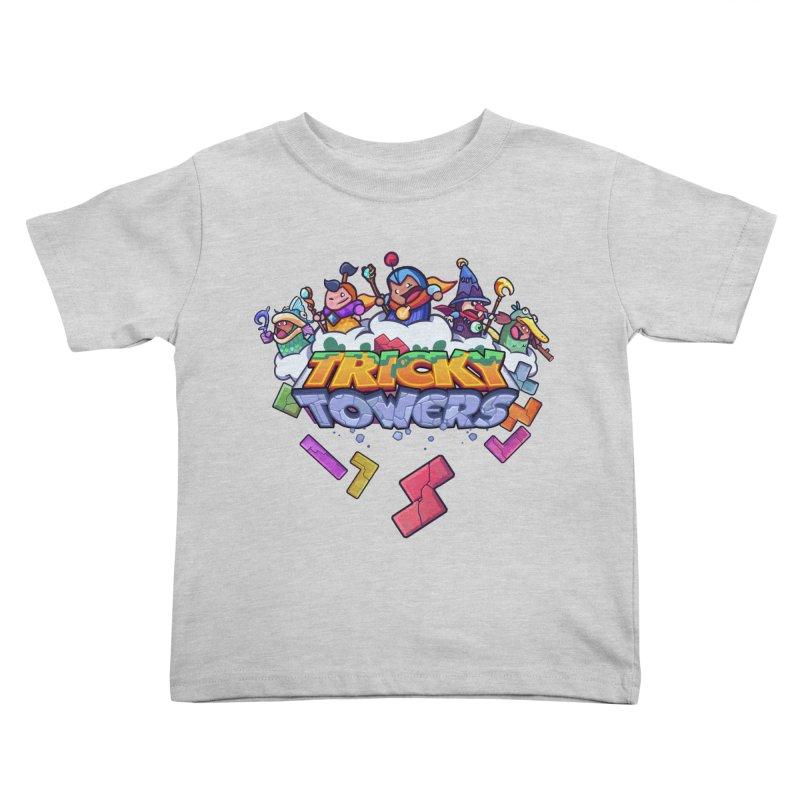Tricky Towers Kids Toddler T-Shirt by WeirdBeard Games Shop