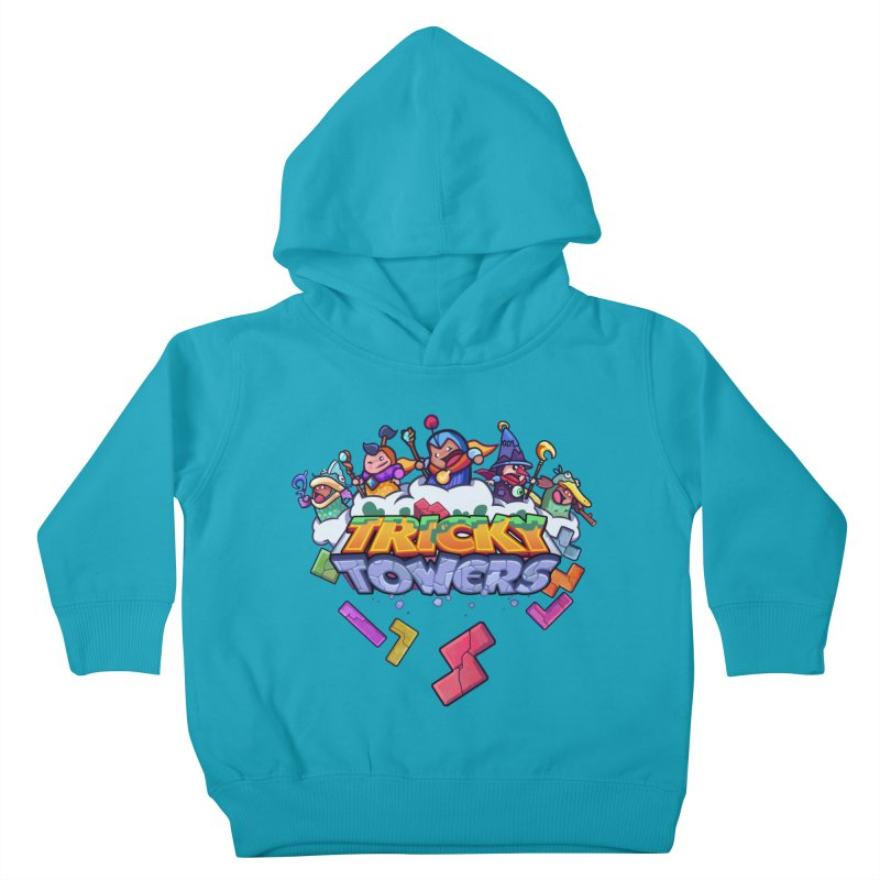 Tricky Towers Kids Toddler Pullover Hoody by WeirdBeard Games Shop