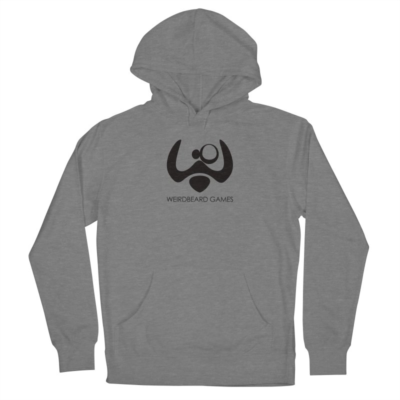 WeirdBeard Games Logo Black Men's French Terry Pullover Hoody by WeirdBeard Games Shop