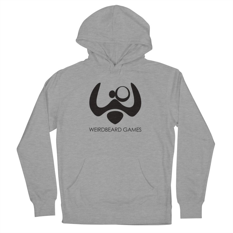 WeirdBeard Games Logo Black Women's Pullover Hoody by WeirdBeard Games Shop
